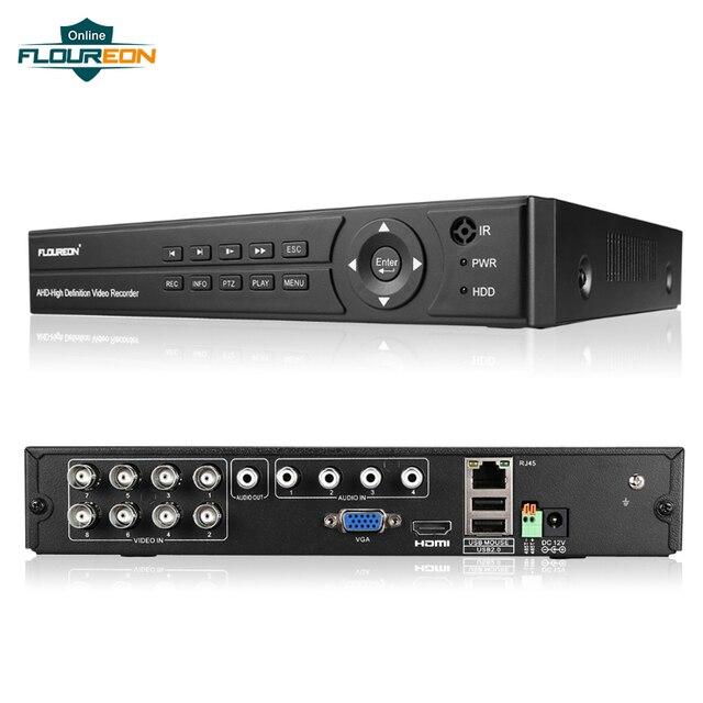 1pcs מעקב וידאו מקליט DVR 8CH 1080P 1080N HDMI H.264 אבטחת CCTV וידאו מקליט ענן DVR 8 וידאו למצלמת אבטחה