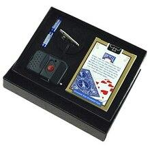 Mini glass Breaker(карточная коробка версия)-карточная коробка Magia, магические аксессуары, ментализм трюки, магические аксессуары Magicians