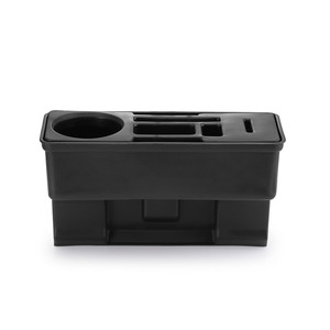 Image 3 - Car Seat Crevice Storage Organizer Console Side Pocket Auto Seat Gap Pocket Organizer with Coin Box and Water Cup Holder