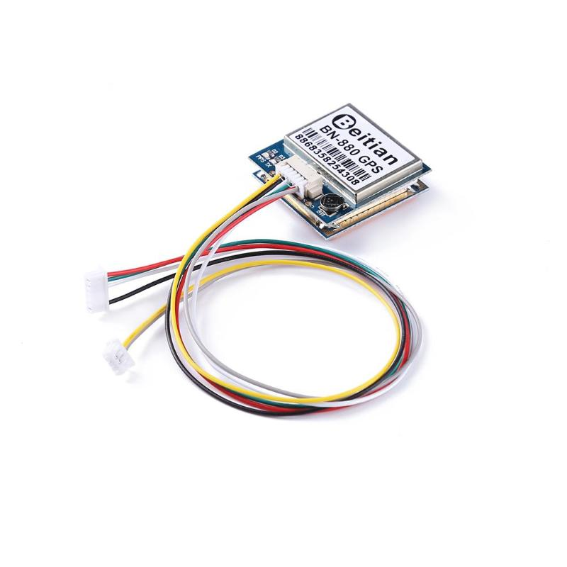 BN-880 GPS Flight Control Module RC UAV FPV Accessory with Cable Connector Dual Module Accessories for RC Multicopter