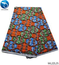 LIULANZHI wax fabrics african fabric for sewing dress 2019 High quality ankara 6yards ML2ZL20-ML2ZL25