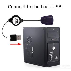 Image 5 - Беспроводной пульт дистанционного управления Powstro, инфракрасный USB приемник для компьютера, Windows 7 8 10 Xp Vista