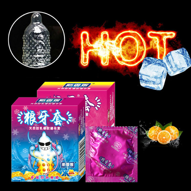 3pcs Condom with Large Oil for Man Delay Sex Dotted G Spot Condoms Intimate Erotic Toys for Men Safe Contraception Female Condom