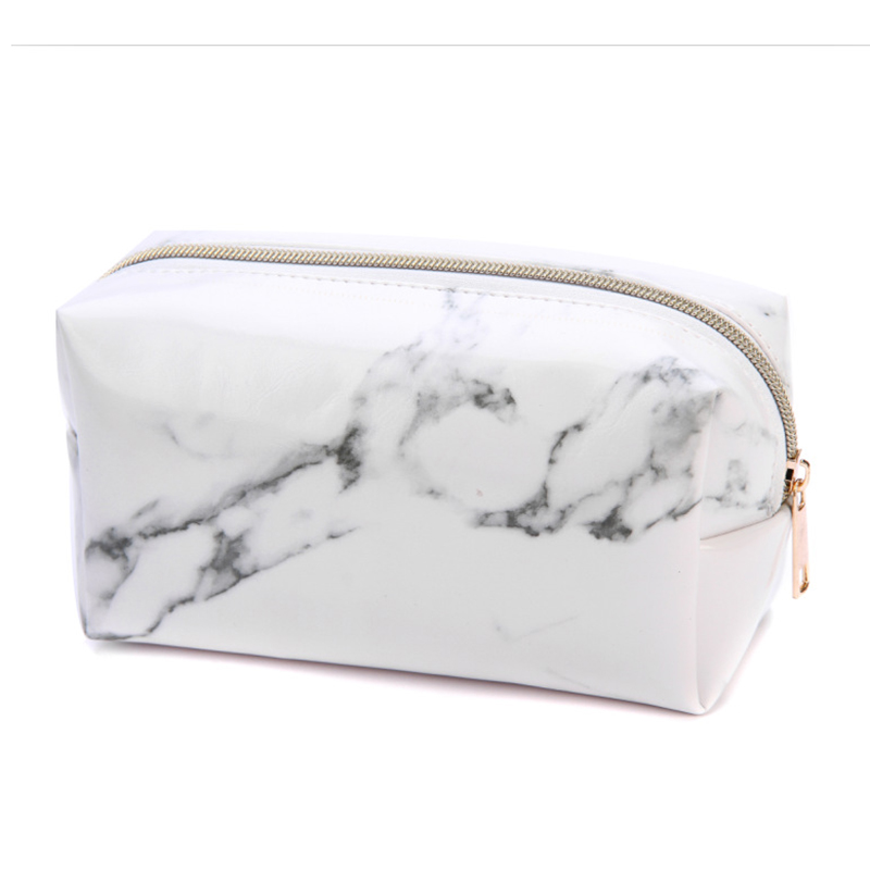 1PC Marble Pencil Case Large Capacity Pencil Bag Creative Pencilcase For Girls Gift School Office Supplies Korean Stationery