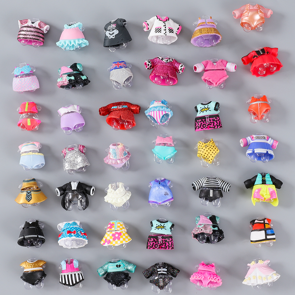 1pcs Original Clothe For Lol Series3 4 Girls Doll Accessories DIY Doll Dress Different Clothes Toys For Kids Toys