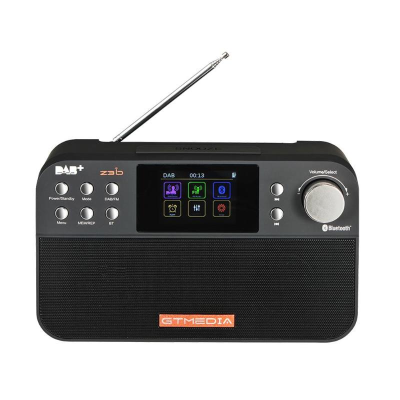 Fm Rds Radio 2,4 tft Farbe Display Bluetooth Alarm Uhr Grade Produkte Nach QualitäT Gtmedia Z3b Dab Unterhaltungselektronik
