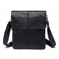 ABDB MVA Men's Genuine Leather Bag New Shoulder Bag Crossbody Small Men's Business Messenger Bag