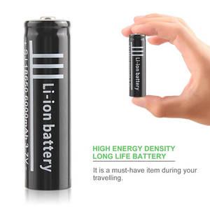 Image 5 - 3,7 V 6000Mah 18650 Li Ion Wiederaufladbare Polymer Lithium Batterie Für Taschenlampe