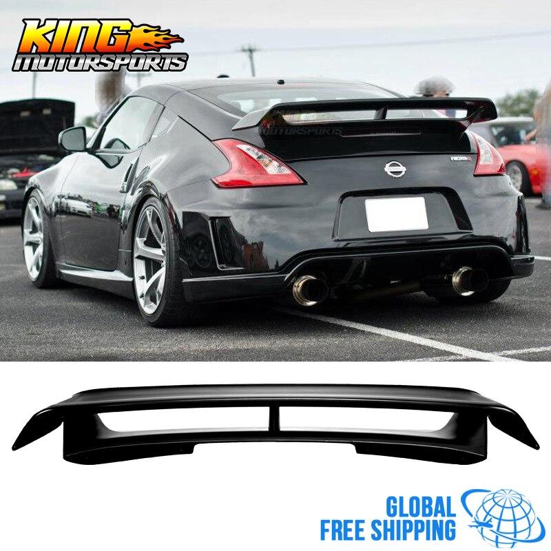 Convient au 09-19 Nissan 370Z Nismo Style becquet de coffre non peint noir ABS livraison gratuite dans le monde entier