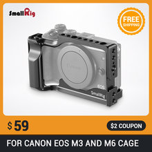 SmallRig For Canon EOS M3 and M6 Cage for canon m3 m6 cage(China)