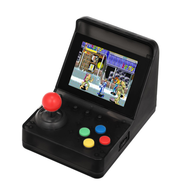 26 languages Portable Game Console 520 Games Retro 3-inch Screen Game Player 32Bit OS Support TF Card Gift for Kids Adults