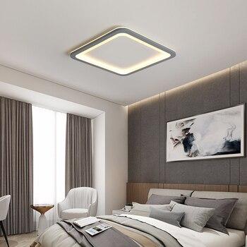 New Gray/White Modern led Ceiling Light For living room lights Bedroom ceiling lights ledlamp led light Ceiling Lamp fixtures