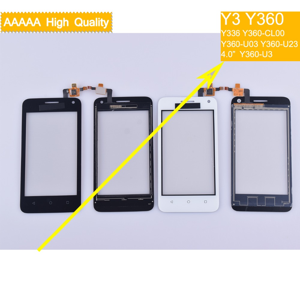 10Pcs For Huawei Y3 Y360 Y360-CL00 Y360-U03 Y360-U23 Y360-U3 Touch Screen Panel Sensor Digitizer Front Glass Touchscreen