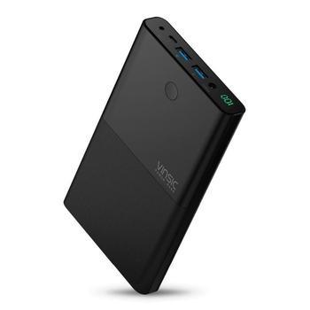Vinsic 30000mAh High Laptop Power Bank Daul USB External Battery Mobile Charger for Notebook iPhone X Xiaomi Mi Samsung Laptop