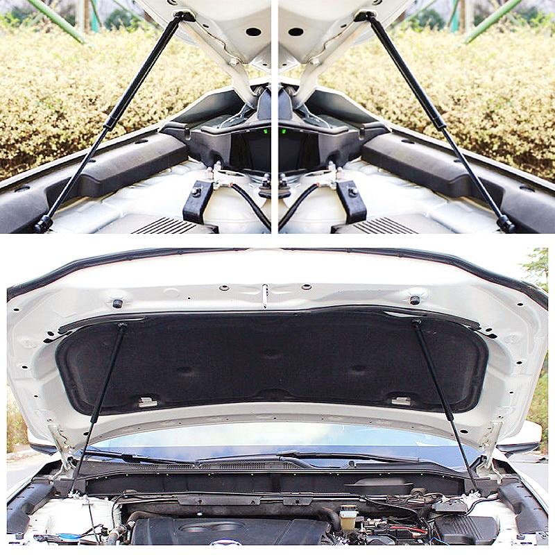 KEMiMOTO Capô Primavera 2Pcs Reequipamento Haste Hidráulica Tampa Do Motor Capô Dianteiro Strut Primavera Choque Bar Para Mazda Cx-5 Cx5 KF 2017 2018