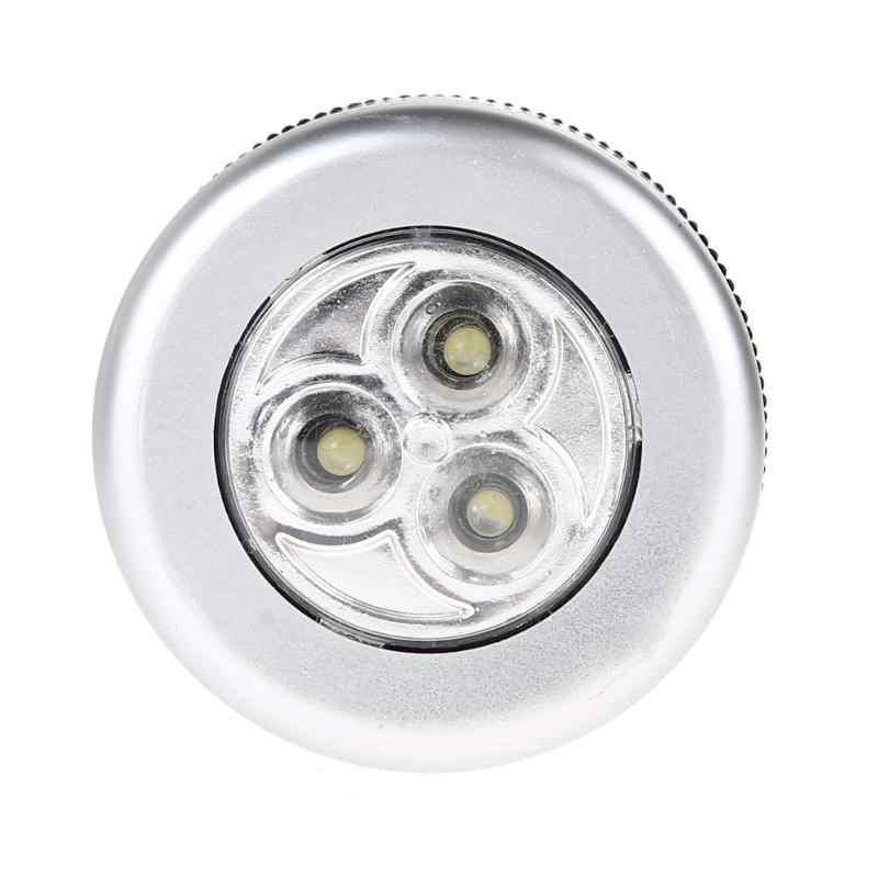 Accesorios de plástico de tamaño pequeño de luz táctil LED con batería