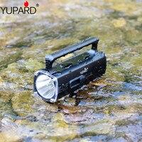 YUPARD XM-L2 T6 LED swiming diving Flashlight torch 100m profundidade subaquática À Prova D' água + Bateria recarregável + Carregador