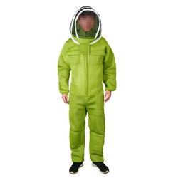 1 conjunto de apicultura terno para bee keeper equipamentos profissionais ar condicionado roupas proteção colmeia respirável anti abelha