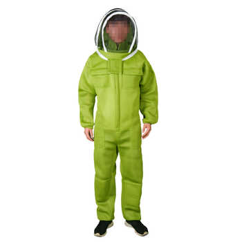 1 set beekeeping suit for bee keeper professional equipment air conditioning clothing protective beehive breathable Anti bee - DISCOUNT ITEM  8% OFF All Category