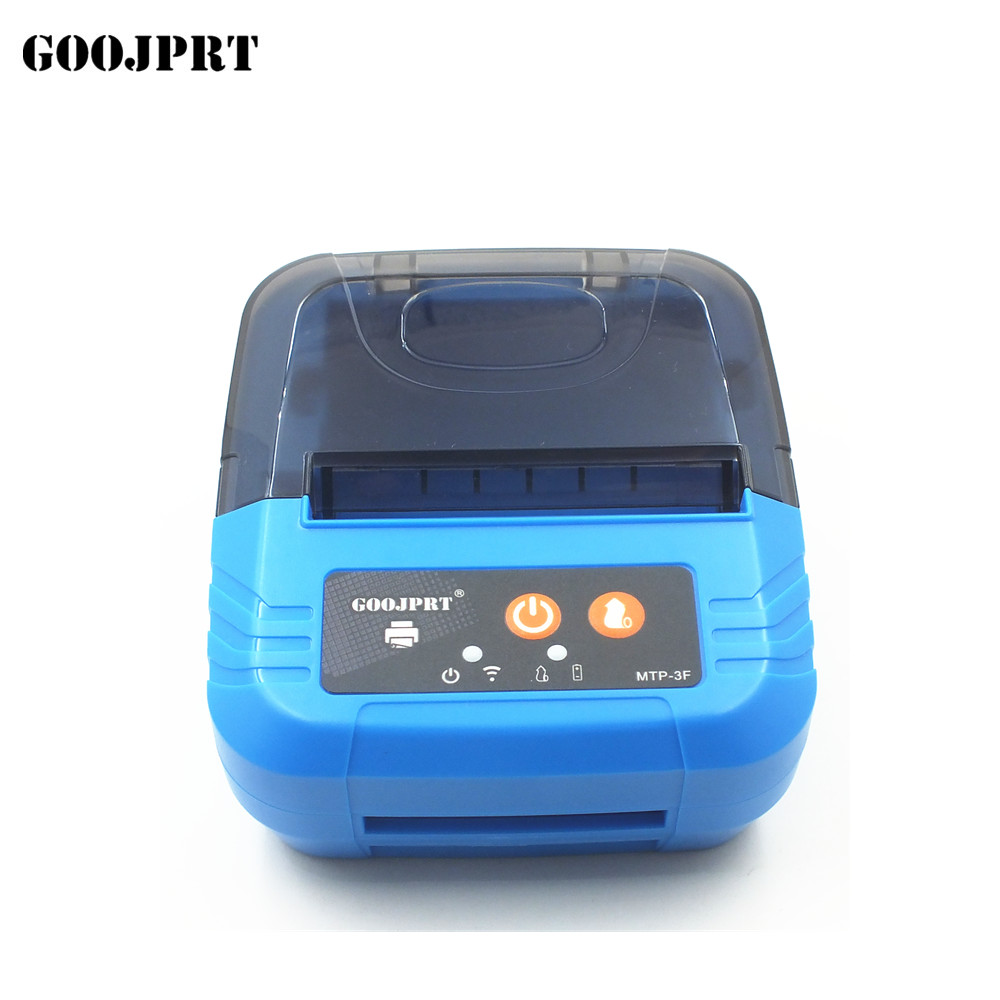 Mini 58mm Thermische Printer USB Draagbare Bluetooth Printer Label Printer Bluetooth Bar Code Printer voor Windows Android POS