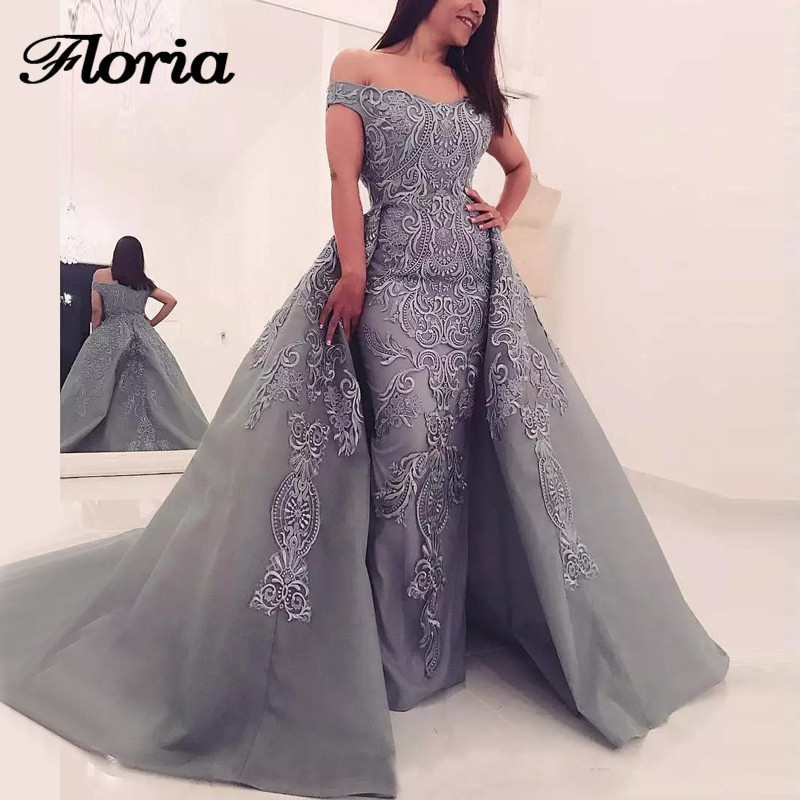 Luxury Twp Pieces Evening Dresses Aibye Saudi Turkish Formal Prom Dress Abendkleider Robe de soiree 2019 Arabic Pageant Gowns