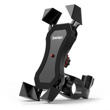 1 Second Self-Locking Electric Scooter Car Phone Holder Riding Navigation Driving One-Key Contraction Mobile