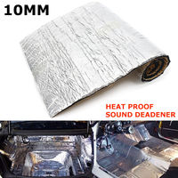 1pc 100*40cm Car Sound Heat Deadener Noise Control Heat Shield Insulation Mat Hood 10mm Car Sound Deadener Tool Accessories|Sound & Heat Insulation Cotton| |  -