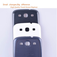 10Pcs/lot For Samsung Galaxy S3 i9300 S 3 III S3 9300 I9305 Housing Battery Cover Back Cover Case Rear Door Chassis Shell все цены