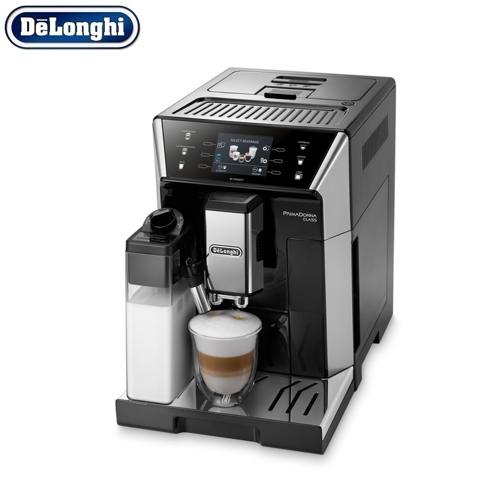 Coffee Machine DeLonghi ECAM 550.55 SB kitchen automatic Coffee machines automatic Coffee Maker cappuccino Kapuchinator automat hot sale coffee printer full automatic latte coffee printer with 8 inch tablet pc coffee and food printer inkjet printer selfie