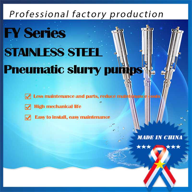 High Viscosity Stainless Steel Pneumatic Leather Spray Pump 3-8l/minHigh Viscosity Stainless Steel Pneumatic Leather Spray Pump 3-8l/min