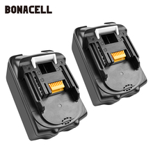 Bonacell 18V 4000mAh BL1830 Lithium Battery Pack Replacement for Makita Drill LXT400 194205-3 194309-1 BL1815 BL1840 BL1850 L30