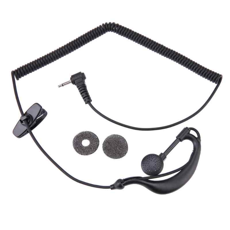 2.5mm G-Hook Earpiece Earphone 1 Pin Headset Headphones with Clothespin for Motorola GP2000 ICOM IC-U16 Phone Accessories