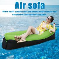 Outdoor Camping Mat Picnic Beach Mat Inflatable Sofa Lazy Bag Air Bed Moistureproof Pad Lounger Chair Tear Resistant Waterproof