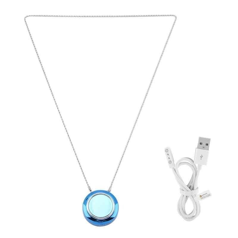 Mais novo colar wearable negativo Purificador de Ar USB portátil pessoal ionizador Ânion purificador de Ar Purificadores de Ar