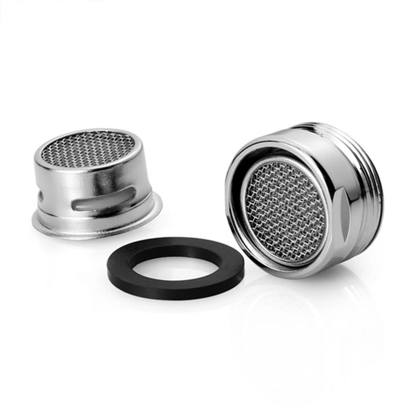 3PCS Kitchen Accessories Faucet Aerator 20MM Male Thread Tap SUS304 Full Flow Spout Bubbler Filter Stainless Steel For Bathroom
