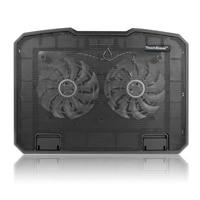 Multi angle raised dual fan laptop heatsink laptop cooler