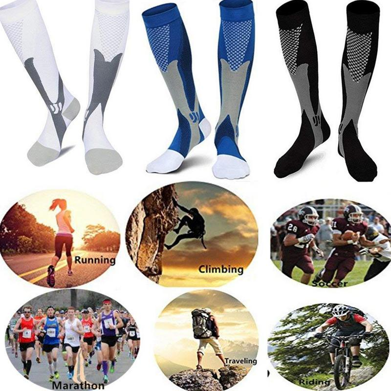 Stretch Stocking Sea Dolphin Soccer Socks Over The Calf Amazing For Running,Athletic,Travel