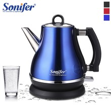 1.2L Colorful 304 Stainless Steel Electric Kettle 1500W Household Cordless 220V Quick Heating Electric Boiling Tea Pot Sonifer(China)