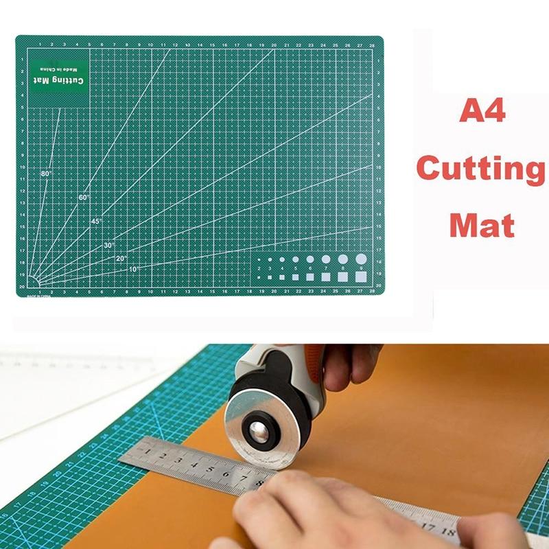PVC Cutting Mat A4 Durable Self-Healing Cut Pad Patchwork Tools Handmade