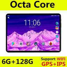 Super Fast 10 inch tablet Octa Core Android 8.0 OS 6GB RAM 128GB ROM 1280X800 IPS Screen tablets 10 10.1 Media Pad