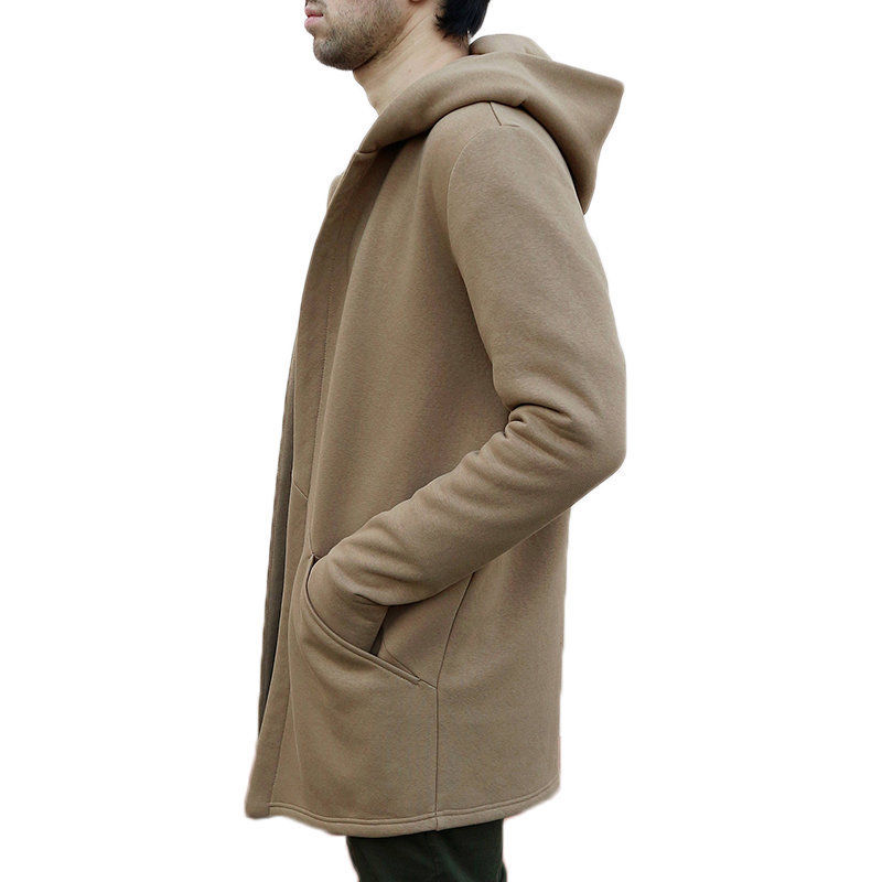 Winter Autumn Stylish Men Long Casual Hooded Trench Coat Male Loose Hoody Cardigan Jacket Outerwear Overcoat Winter Autumn Stylish Men Long Casual Hooded Trench Coat Male Loose Hoody Cardigan Jacket Outerwear Overcoat Plus Size 3XL