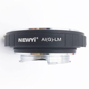 Image 5 - NEWYI מתאם עבור ניקון AI F G AF S Mout עדשה לייקה M LM L/M מצלמה חדש