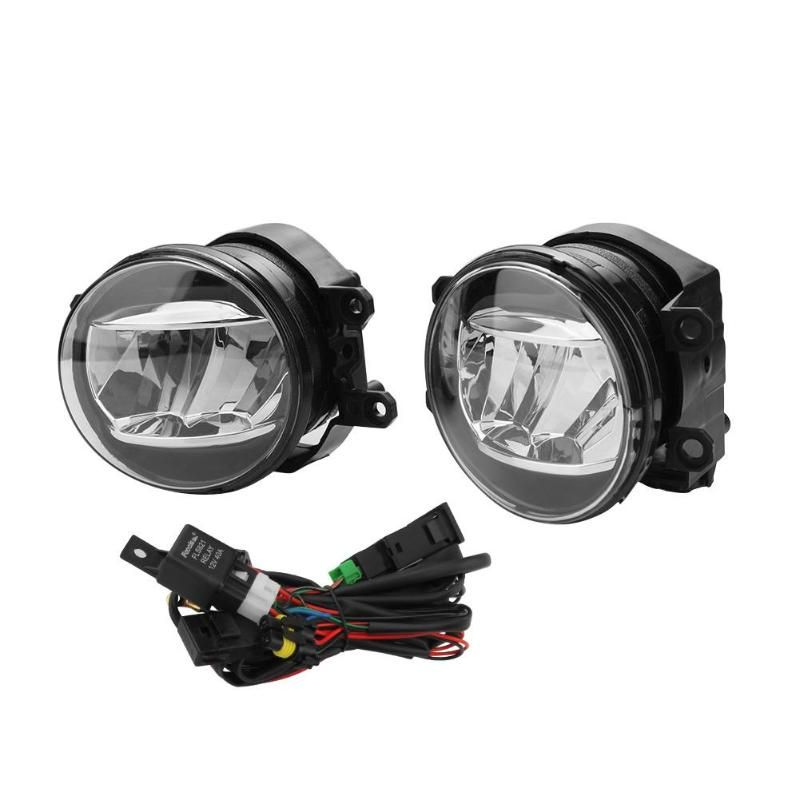 VODOOL Fog Driving Light Lamp Harness Kit 81210 48050 81220 48050 for Toyota Camry Lexus ES300