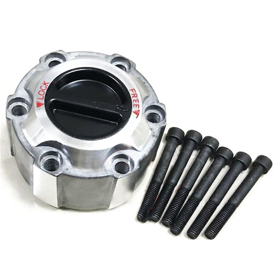 2PCS Manual Locking Hub 28 Spline Tooth For Nissan Pick-up D21 Navara 1990-up