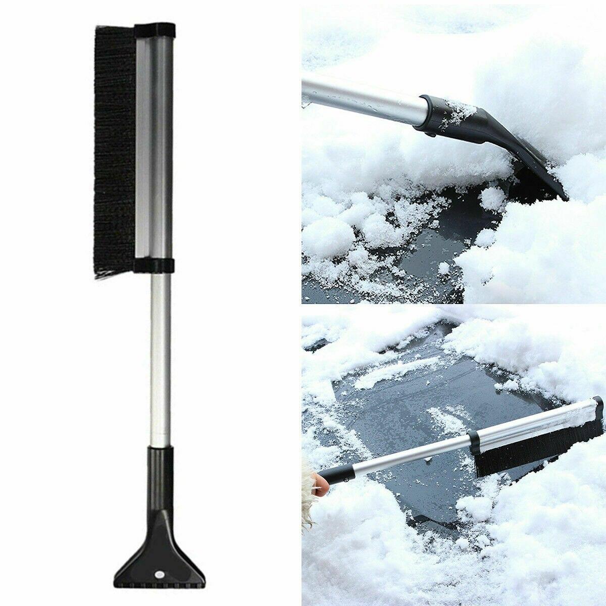 Auto Fahrzeug Winter Schnee Eis Schaber Teleskop Snowbrush Schaufel Entfernung Pinsel