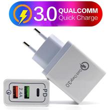 DC5V 2A USB Quick Charge 3,0 Fast Зарядное устройство стены для зарядки мобильного телефона Mp3 Mp4 Мощность адаптер