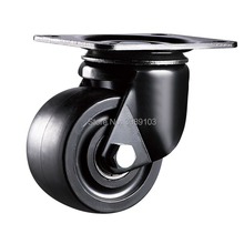 zhuomiao 2.5 inch 3 Low profile heavy duty casters and nylon wheels