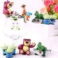 6 unids lote juguete figura Toy Story Woody Buzz Lightyear Jessie ... a6833692490