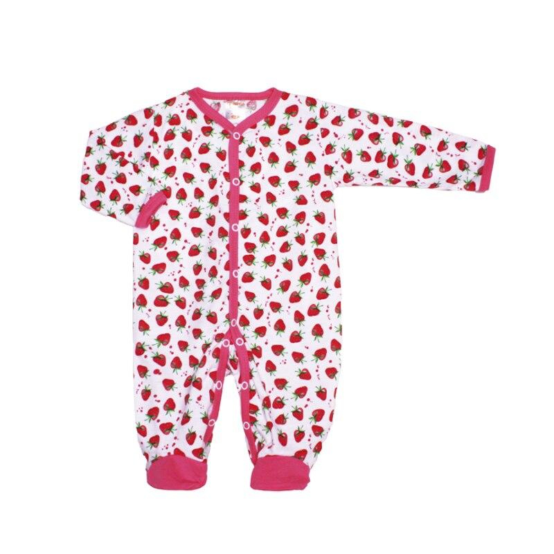 Jumpsuit Kotmarkot 6252 children clothing cotton baby girls 0 24m newborn baby girl clothes infant bebes long sleeve cotton romper jumpsuit one pieces outfit