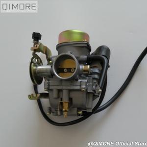 Image 2 - Çekme tipi CVK30 karbüratör için ısıtıcı ile AN250 Skywave / Burgman Linhai Aeolus VOG 260 300 tankı 260 YP250 XINGYUE 260